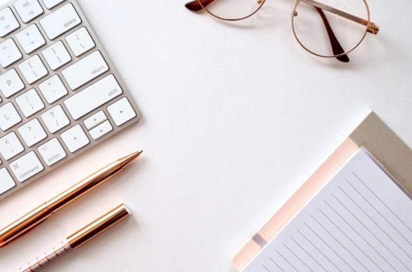 Toetsenbord notitieblok - schrijven - De Letterkamer